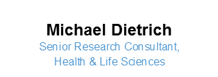 Image - Michael Dietrich, Senior Research Consultant, Health and Life Sciences at Global Public Affairs