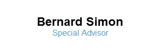 Bernard Simon, Special Advisor at Global Public Affairs