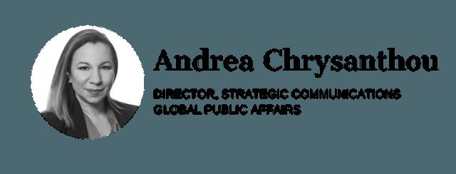Andrea Chrysanthou Insight author tile
